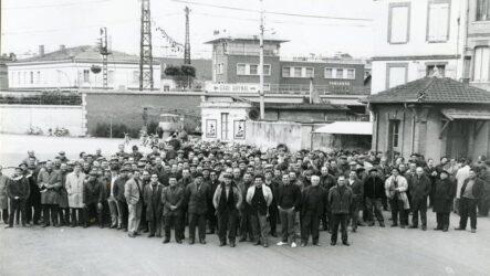 Des ouvriers en mai 1968