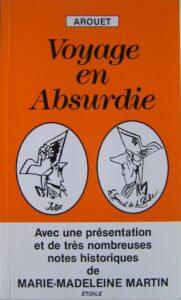 """Réédition de 1994, de """"Voyage en Absurdie"""" de Arouet, sorti en 1946"""