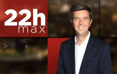 """""""22h max"""", l'émission de Maxime Witek, sur BFM TV"""