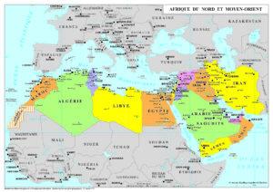 L'ANMO (Afrique du Nord et Moyen Orient) ou MOAN (Moyen Orient et Afrique du Nord)