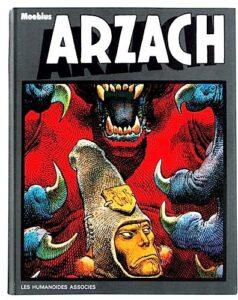 """Édition originale de l'album """"Arzach"""" publié en 1976 par Moebius (Jean Giraud)"""