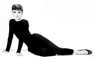 L'actrice britannique Audrey Hepburn