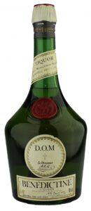 Une bouteille de Bénédictine