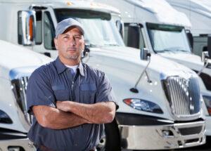 """Un """"routier"""" ou """"camionneur"""""""