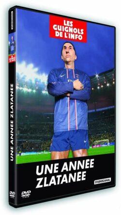 """""""Une année zlatanée"""", L'année des Guignols 2012-2013, sortie en DVD en octobre 2013"""