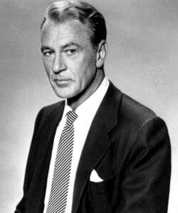 L'acteur états-unien Gary Cooper (7 mai 1901 -13 mai 1961)