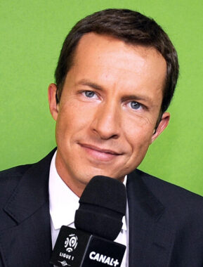 Le journaliste sportif français Grégoire Margotton