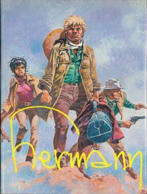 """""""Hermann"""", la monographie de Thierry Groensteen, parue en 1982 aux éditions Alain Littaye"""