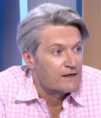 Le journaliste sportif français Hervé Penot