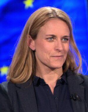 La journaliste française Kataline Landaburu