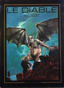 """Édition originale de l'album """"Le diable"""" publié en 1978 par Jean-Michel Nicollet"""
