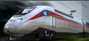 Une locomotive de TGV