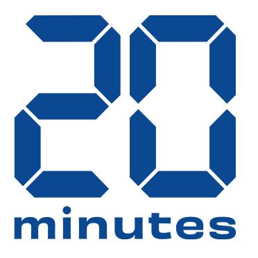 Logotype du journal gratuit français 20 Minutes