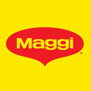 Logotype de la marque helvétique Maggi, créée en 1885 par le suisse Julius Maggi
