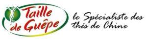 """Logotype de la marque de thés de Chine """"Taille de guêpe"""""""