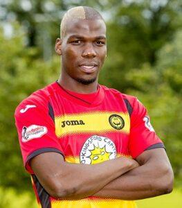 Le joueur de football international guinéen Mathias Pogba (© SNS Group)