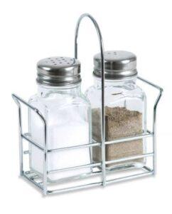Une ménagère de table 2 pièces : sel et poivre