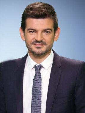 Le journaliste français Philippe Gaudin