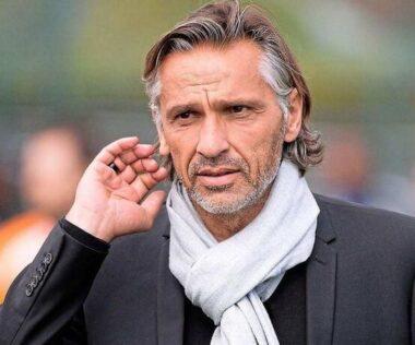 L'entraîneur de football français Régis Brouard