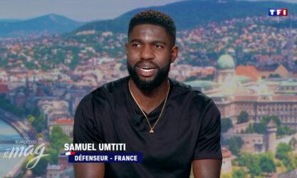 Le joueur de football international français Samuel Umtiti