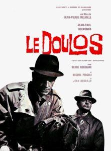 """Affiche du film français """"Le doulos"""", de Jean-Pierre Melville (1962)"""