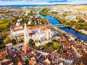 La ville d'Auxerre (89)