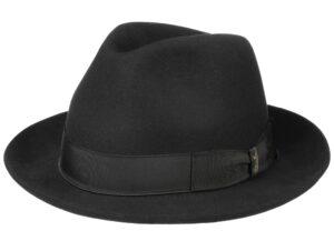 """Un borsalino ou """"un doulos"""" (""""chapeau"""" en argot)"""
