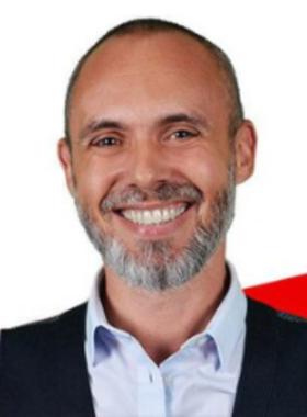 L'animateur de radio français Christophe Marceaux