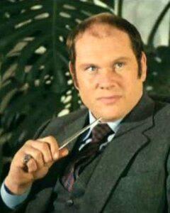 L'acteur français Claude Brosset