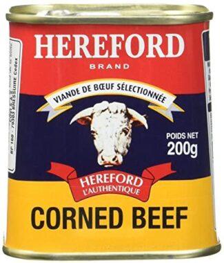 Une boîte de corned-beef