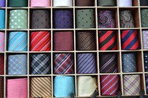 Un assortiment de cravates