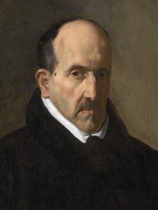 """Le poète baroque espagnol Luis de Gongora y Argote, emblématique du """"Gongorisme"""" ou """"Cultisme""""."""