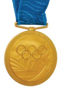 Une médaille d'or olympique