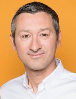 Le journaliste sportif français Nicolas Geay
