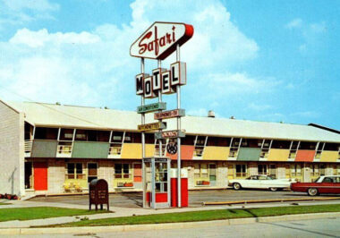 Motel états-unien des années 1960