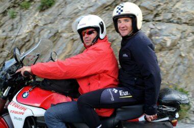 L'ancien champion cycliste français Thomas Voeckler, devenu consultant
