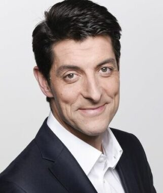 Le journaliste sportif français Alexandre Boyon