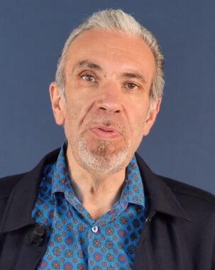 Le journaliste sportif français Dominique Séverac