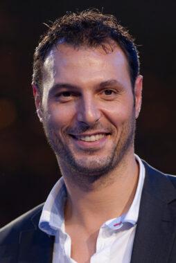 L'ancien champion de handball français Jérôme Fernandez, devenu entraîneur et consultant