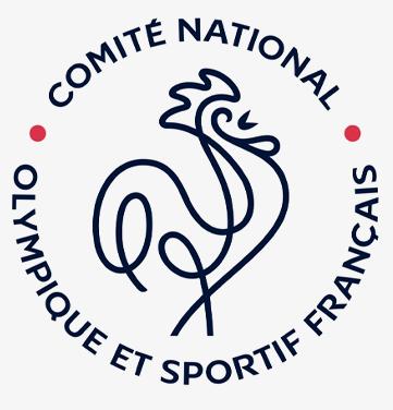 Logotype du CNOSF (e Comité National Olympique et Sportif Français)