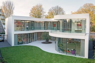 """Une """"maison de verre"""" au sens propre"""