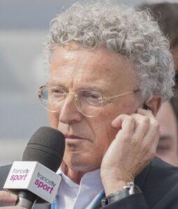 Le journaliste sportif français Nelson Monfort