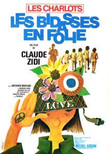 """Affiche du film français """"Les bidasses en folie"""", de Claude Zidi (1971)"""
