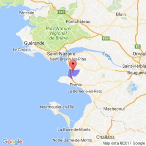 Localisation de la commune de Saint-Michel Chef-Chef (44)