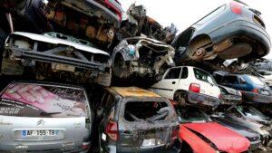 Une casse automobile