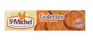 Un paquet de Galettes Saint-Michel