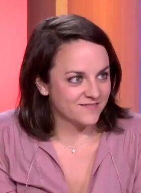 La journaliste sportive française Mélisande Gomez