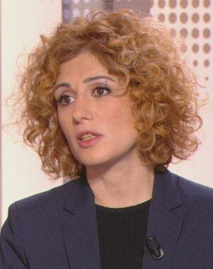 La journaliste, réalisatrice et écrivaine française Abnousse Shalmani