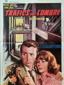 """Affiche du film """"Trafics dans l'ombre"""", d'Antoine d'Ormesson (1964)"""