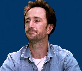 Le journaliste sportif français Arnaud Hermant